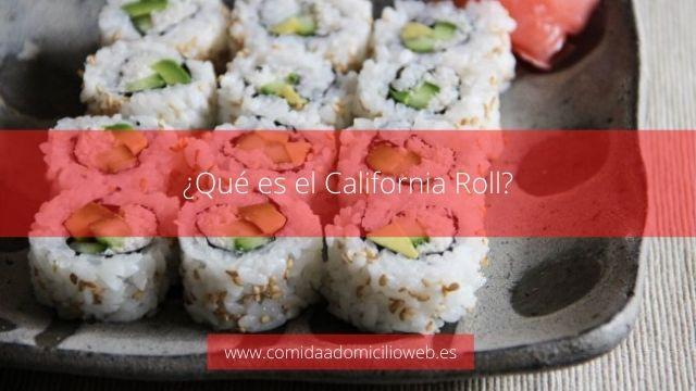 ¿Qué es el California Roll