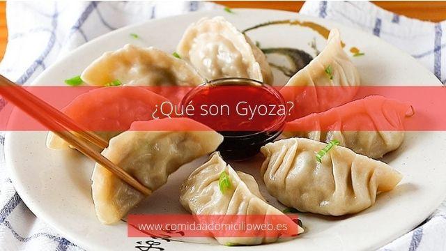 Qué son Gyoza