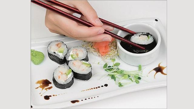 Cómo remojar el sushi
