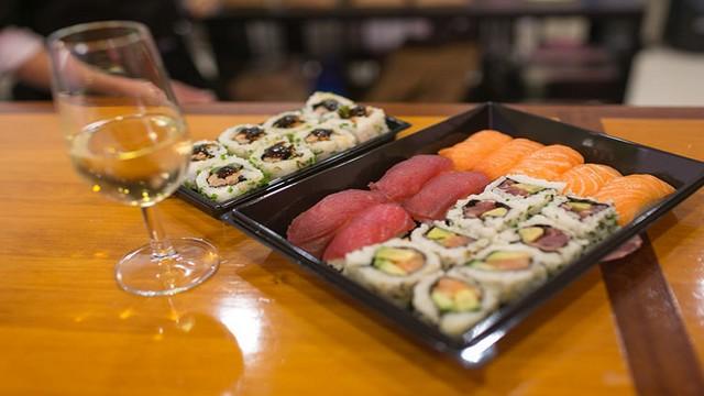 Vino para sushi