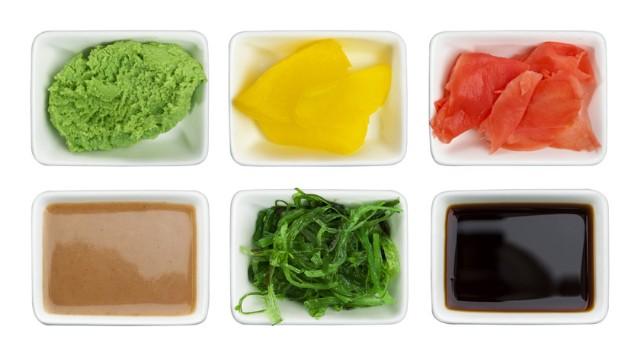acompañamientos del sushi