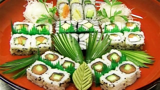 ingredientes de tipos de sushi